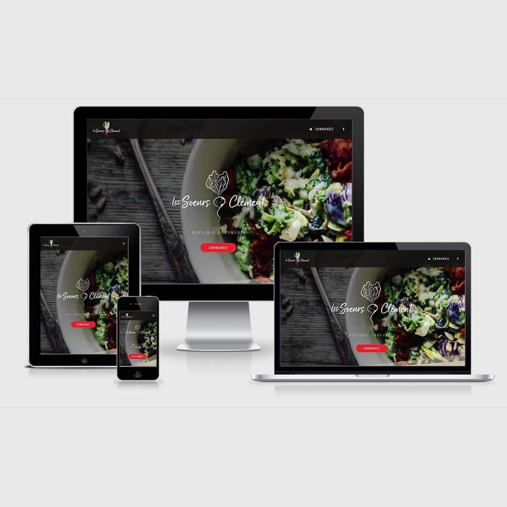 Site web Les Soeurs Clément
